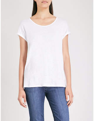 The White Company Relaxed-fit linen T-shirt