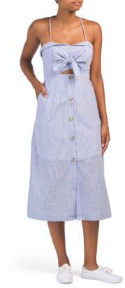 Juniors Australian Designed Cut Out Dress