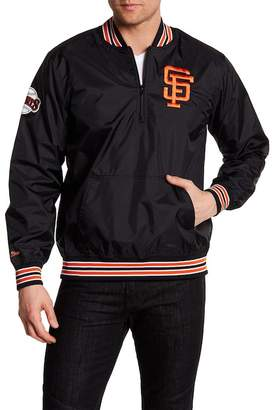 Mitchell & Ness 1/4 Zip Giants Team Pullover