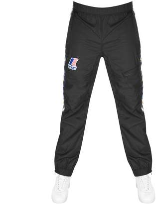 K-Way K Way X Kappa Packable Over Sports Trousers Black