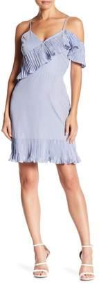 Lucy Paris Angie Stripe Pleat Dress