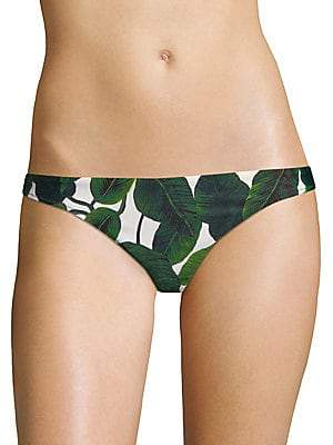 Milly Women's St Lucia Printed Bikini Bottom