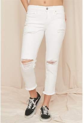 Garage Ankle Straight Jean