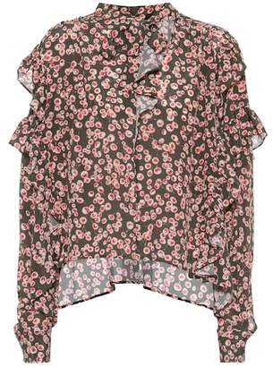Isabel Marant Woman Poplin-trimmed Checked Ramie And Silk-blend Shirt Pink Size 34 Isabel Marant With Paypal Online Visa Payment For Sale Sale Factory Outlet MeHMHN