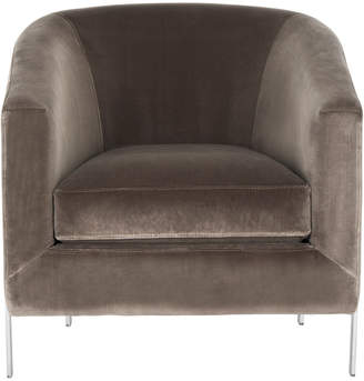 Safavieh Vernon Velvet Club Chair