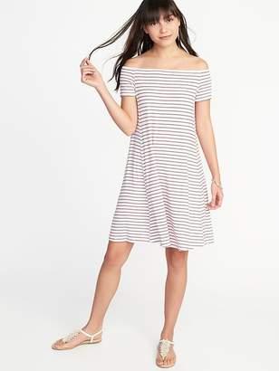 Old Navy Off-the-Shoulder Swing Dress for Women
