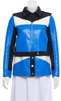 Courreges Structured Color Block Jacket w/ Tags