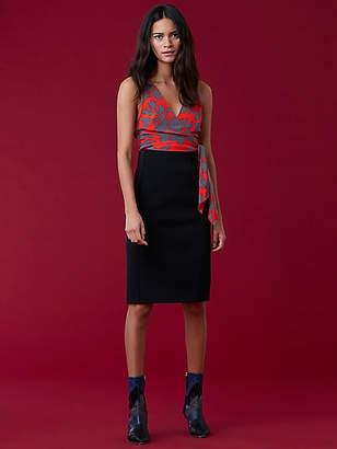 Diane von Furstenberg High Waisted Fitted Skirt