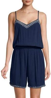 Vero Moda Huuston Embroidered Romper