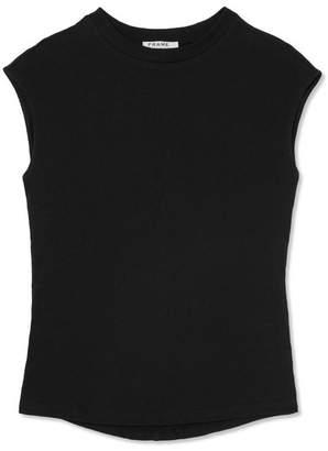 Frame Stretch-cotton Jersey Top - Black