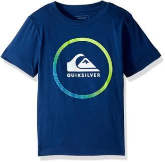 Quiksilver Big Boys' Active Logo Kids Tee