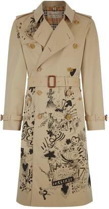 Burberry Doodle Cranleigh Trench Coat
