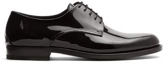 Bottega Veneta Lace-up patent-leather derby shoes