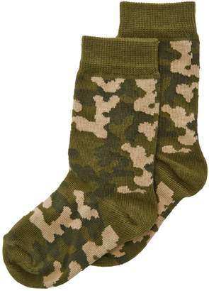 Country Kids Boys' Camouflage Sock