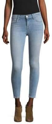 835 Mid-Rise Light Wash Crop Jeans