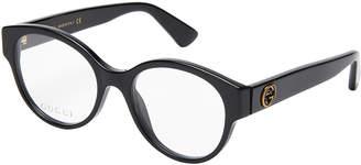 Gucci GG0099O Black Round Optical Frames