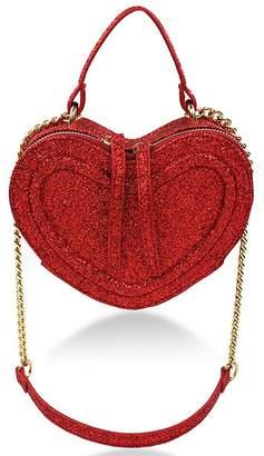 Milk & Soda Glitter Heart Bag