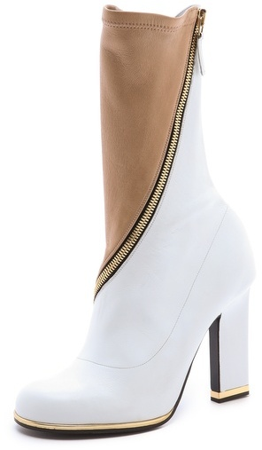 Jil Sander Two Toned Boots
