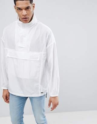HUGO Overhead Jacket In White