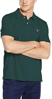 Gant Men's Classic Short-Sleeve Piqué Polo