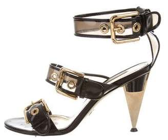 Dolce & Gabbana Buckle Ankle Strap Sandals