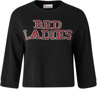 RED Valentino Red Ladies sweatshirt