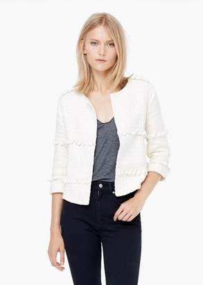 Mango Outlet MANGO OUTLET Cotton Embroidered Jacket $69.99 thestylecure.com