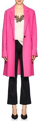Helmut Lang Women's Brushed Wool-Cashmere Melton Topcoat