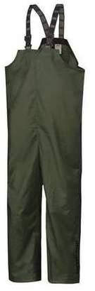 Helly Hansen 70529_480-4XL Rain Bibs, PVC/Polyester, Army Grn, 4XL