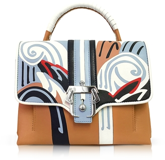 Paula Cademartori Petite Faye Leather Satchel Bag $1,778 thestylecure.com