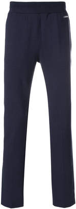 Z Zegna straight leg track pants