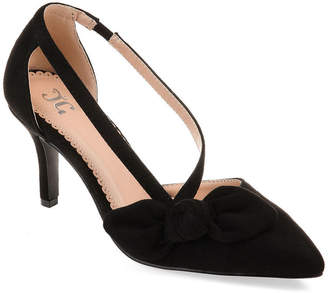 Journee Collection Womens Jilli Slip-on Pointed Toe Stiletto Heel Pumps