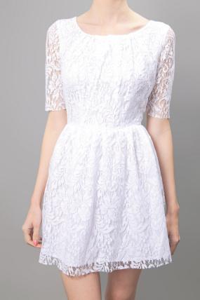 Patterson J Kincaid Lace Dress