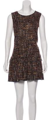 Dolce & Gabbana Tweed Mini Dress
