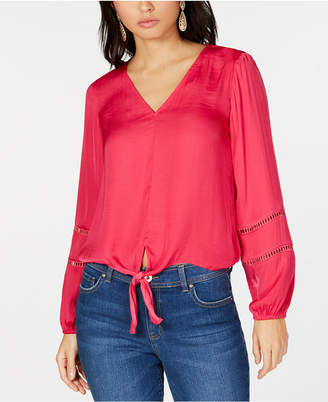 INC International Concepts I.N.C. Tie-Front Top, Created for Macy's