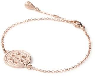 Maro - Rose Gold Byzantine Fine Bracelet