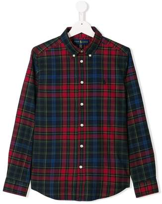 Ralph Lauren TEEN checked shirt