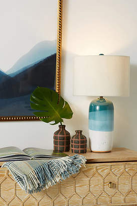 Anthropologie Dipped Uteki Table Lamp