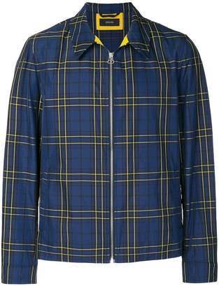 Joseph plaid shirt jacket
