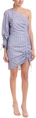 Parker One-Shoulder Sheath Dress