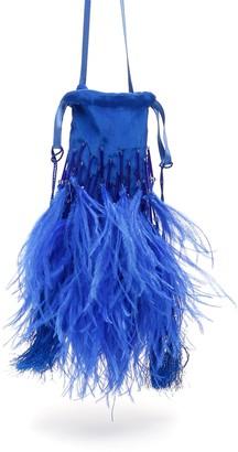 ATTICO The Feathers And Beads Mini Bag