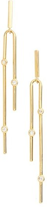 Women's Elizabeth And James Maxwell Linear Drop Earrings $125 thestylecure.com