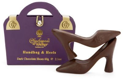 Charbonnel et Walker Dark Chocolate Handbag and Heels