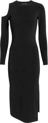 Nicholas Cold Shoulder Midi Dress