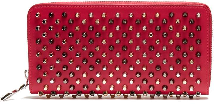 Christian Louboutin  CHRISTIAN LOUBOUTIN Panettone spike-embellished leather wallet