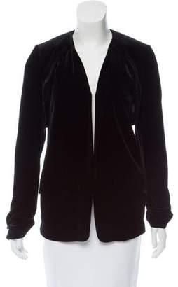 Alexander Wang Velvet Open Front Jacket
