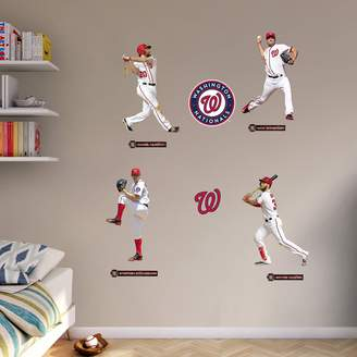 Fathead Washington Nationals Power Pack Wall Decals