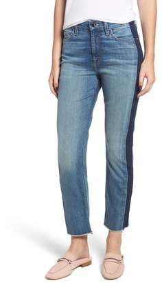 Jen7 Shadow Seam Straight Crop Jeans