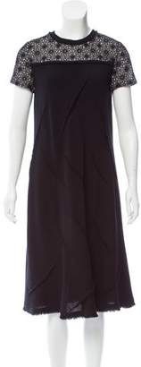 Amelia Toro Wool Midi Dress