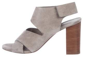 Vince Suede Crossover Sandals